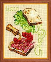 """Набор для вышивания крестом """"Ланч"""", фото 1"""