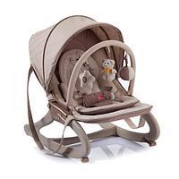 Детский шезлонг кресло-качалка Mamalove