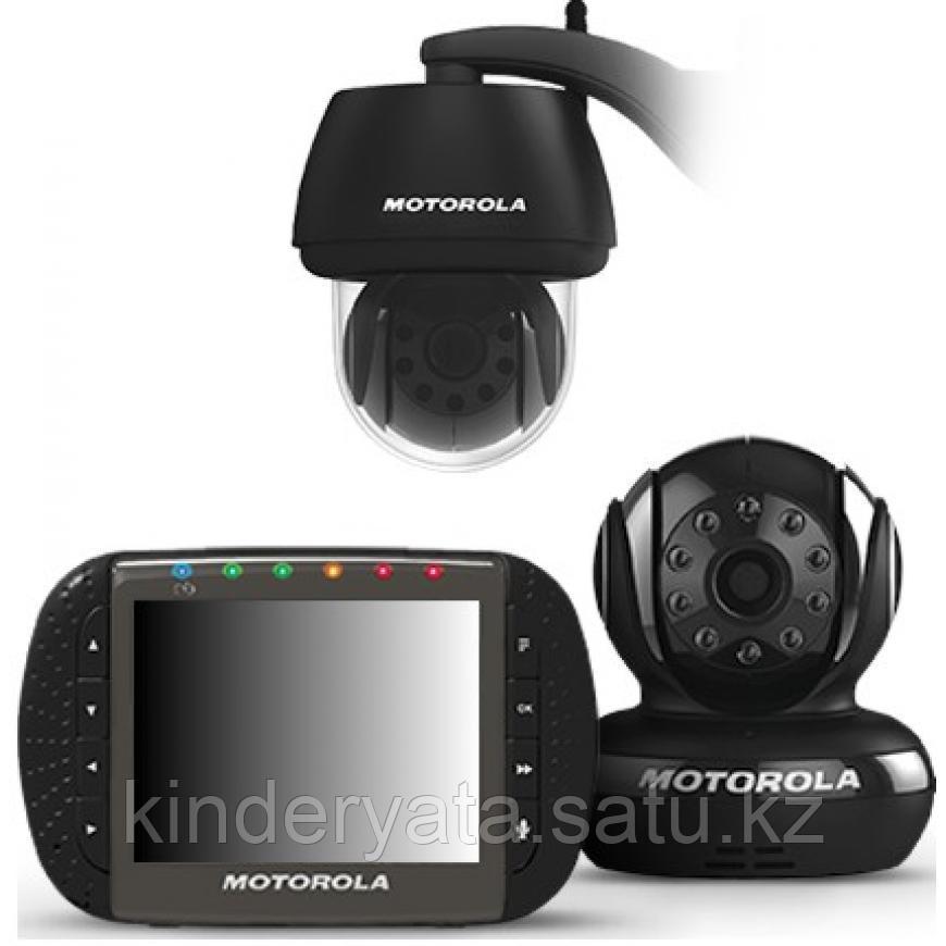 """Видеоняня Motorola SCOUT1500 с диагональю экрана 3,5"""" с уличной камерой"""