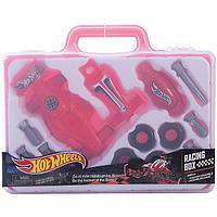 Игровой набор юного механика Hot Wheels в чемодане, фото 1