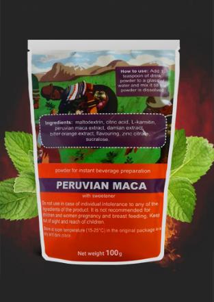 Maca Powder (Мака Повдер) - для потенции