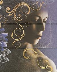 Керамическая плитка GRACIA Gracia violet panno 02(750*600)