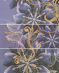 Керамическая плитка GRACIA Gracia violet panno 01(750*600)