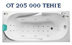Акриловая ванна ВИТА 150х70 см. с гидромассажем. Джакузи.