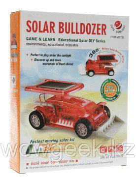 Конструктор Бульдозер на солнечных батареях Solar Bulldozer