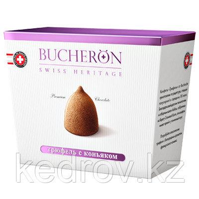 """""""BUCHERON"""" Трюфель с коньяком BOX, шоколадные конфеты 175 гр."""
