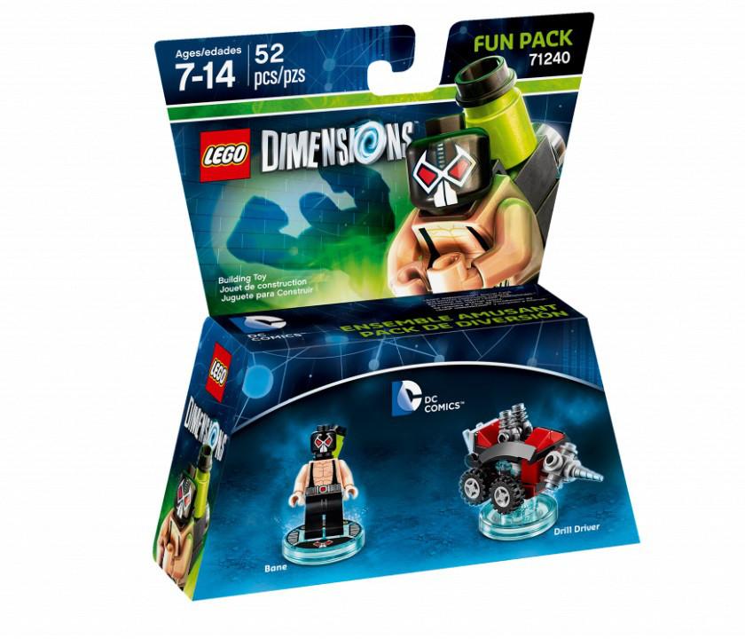 """71240 Lego Dimensions """"DC Comics"""" Бэйн (Fun Pack)"""