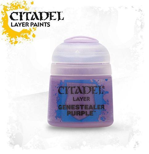 АКСЕССУАРЫ ВАРХАММЕР: Баночка с краской: Лиловый Генокрад (Genestealer Purple)