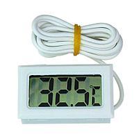 Термометр электронный с выносным проводным датчиком температуры 2 м, фото 1