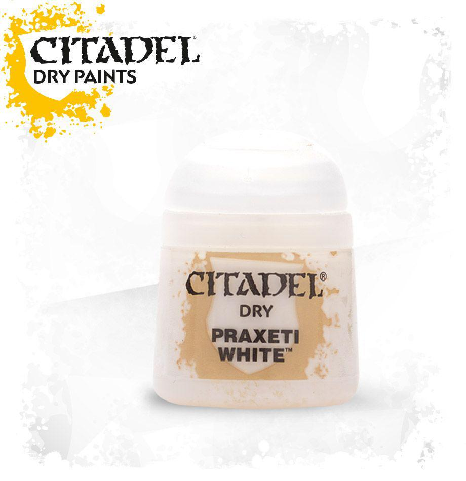АКСЕССУАРЫ ВАРХАММЕР: Баночка с краской: Белая Праксети (Paint Pot: Praxeti White)