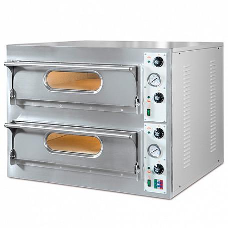 Печь для пиццы электрическая Resto Italia START 44 (940х920х710 мм, 9,4кВт, диаметр пиццы 33см, 2секции)