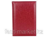 Датированный ежедневник А5 Classic (Классик) красный