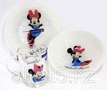 Детcкий набор Minnie Colors 3 предмета