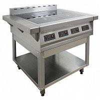 Плита индукционная ПЭИ-40-01 (840(1050)х850х880(980) мм, 4конф., 8,8 кВт, 380В)
