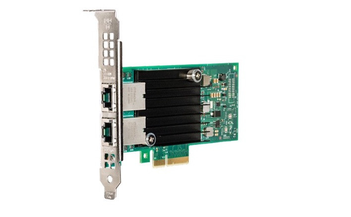 INTEL X550T2BLK 10GB ETHERNET CONVERGED NETWORK ADAPTER(DELL DUEL LEVEL)WITH LOW PROFILE BRACKET. BRAND NEW.