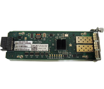 DELL HY17J S60-10GE-2S FORCE10 NETWORKS 2-PORT 10G SFP+ OPTICAL MODULE. NEW RETAIL FACTORY SEALED.DELL HY17J S60-10GE-2S FORCE10 NETWORKS 2-PORT 10G