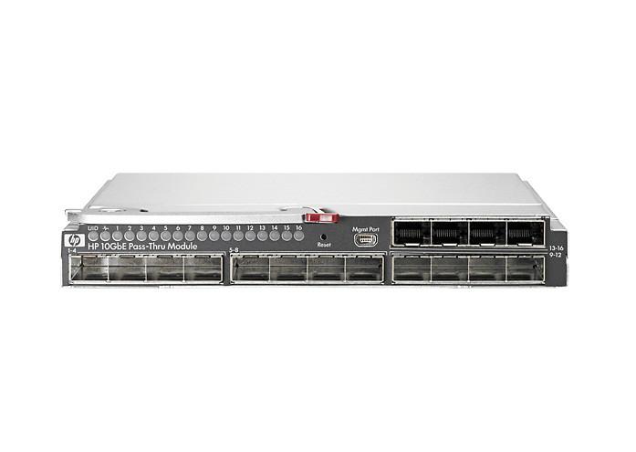 HP AT084A 10GBE PASS-THRU MODULE - SWITCH - 16 X 10 GIGABIT SFP+ - PLUG-IN MODULE.