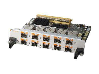 CISCO SPA-10X1GE-V2 10-PORT GIGABIT ETHERNET SHARED PORT ADAPTER, VERSION 2 - EXPANSION MODULE - 10 PORTS.