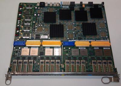 DELL HRNKX 16-PORT 10 GIGABIT ETHERNET LINE CARD FOR E600/E1200.