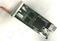 DELL 8VWX5 EMC1 SLIC25, 2-PORT, 10GBE, SFP+, HOT SWAP MODULE, W/O TRANSCEIVER.