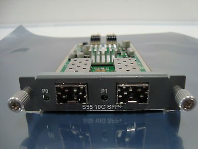 DELL S55-10GE-2S FORCE10 NETWORKS S55-10GE-2S TWO-PORT 10G SFP+ OPTICAL MODULE.