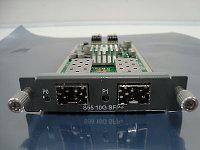 DELL 32J5K S55 TWO-PORT 10G SFP+ OPTICAL MODULE.