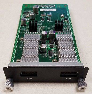 DELL XGM2-2XF FORCE10 NETWORKS S50-01-10GE-2P 2-PORT 10 GBE XFP MODULE.