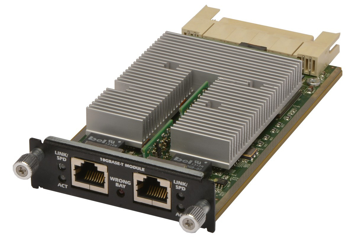 DELL 6200-XGBT POWERCONNECT 6200-XGBT 10GBASE-T 10GB DUALPORT MODULE.