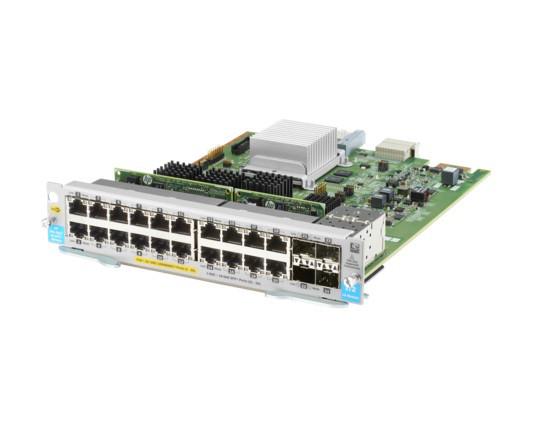 HP J9990A 5400R ZL2 20-PORT 10/100/1000BASE-T POE+ / 4-PORT 1G/10GBE SFP+ MACSEC V3 ZL2 EXPANSION MODULE.HP J9990A 5400R ZL2 20-PORT 10/100/1000BASE-T