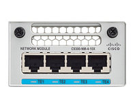 CISCO C9300-NM-4G CATALYST 9300 SERIES NETWORK MODULE EXPANSION MODULE FOR CATALYST 9300. NEW FACTORY SEALED.