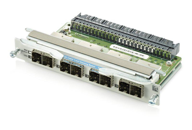 HP J9577-61001 NETWORK STACKING MODULE - 4 PORTS. NEW SEALED.
