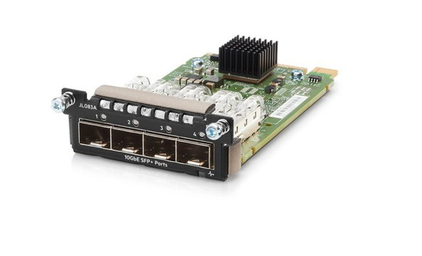 HP JL083A ARUBA 3810M 4SFP+ MODULE. NEW RETAIL FACTORY SEALED WITH LIMITED LIFETIME MANUFACTURER WARRANTY.HP JL083A ARUBA 3810M 4SFP+ MODULE. NEW