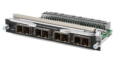 HP JL084-61001 ARUBA 3810M 4-PORT STACKING MODULE. NEW RETAIL FACTORY SEALED.