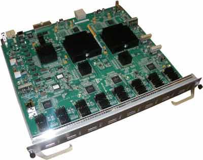 HP JD191-61101 8-PORT 10-GBE XFP EXT A7500 MODULE.