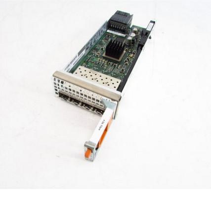 DELL K177G 4-PORT 4GBPS FC FIBER I/O MODULE.
