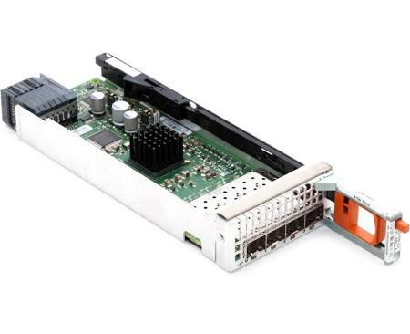 DELL F118P EMC CX4 SERIES 4-PORT 4GBIT FIBRE CHANNEL I/O MODULE.