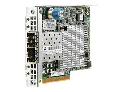 HP 684213-B21 FLEXFABRIC 10GB 554FLR-SFP+ NETWORK ADAPTER - 2 PORTS.