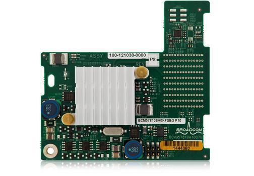 DELL C0P7J BROADCOM 57810-K DUAL PORT 10 GIGABIT NETWORK INTERFACE CARD FOR DELL POWEREDGE M620 SERVER.