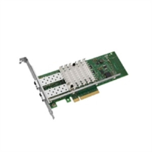 INTEL G38004-002 DUAL PORT X520-DA2 10-GB SERVER ADAPTER ETHERNET PCIE NETWORK INTERFACE CARD WITH BOTH BRACKETS. BRAND NEW.(DELL DUAL LABEL).INTEL