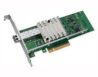 INTEL E10G41BFSRBLK X520-SR1 FIBER OPTIC 10 GIGABIT ETHERNET NETWORK ADAPTER.
