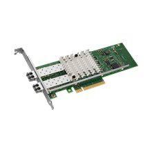 DELL X520-SR2-DELL 10GB 2 PORTS PCI-E LOW PROFILE SERVER ADAPTER. BRAND NEW.