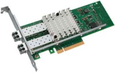 INTEL E10G42BFSRBLK 10GB 2 PORTS PCI-E LOW PROFILE SERVER ADAPTER.