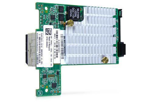 DELL RX8GJ 10GB DUAL PORT PCI-E MEZZ CARD.