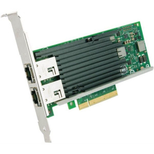 DELL X540-T2-DELL ETHERNET 10GIGABIT CONVERGED NETWORK ADAPTER. BRAND NEW.