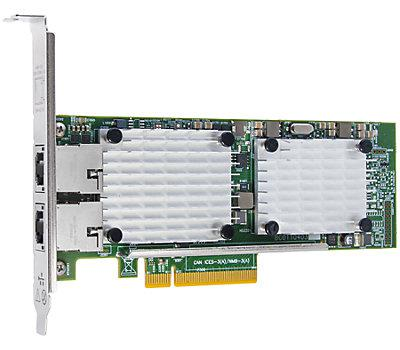 QLOGIC QLE3442-CU-CK 10GIGABIT ETHERNET CARD PCI EXPRESS 3.0 X8. NEW RETAIL FACTORY SEALED WITH 3 YEARS MANUFACTURER WARRANTY.
