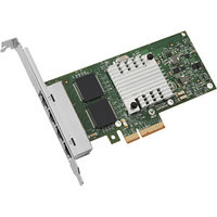INTEL I340T4 ETHERNET SERVER ADAPTER I340-T4 - PCI EXPRESS X4 - 4 PORT - 10/100/1000BASE-T - INTERNAL - FULL-HEIGHT, LOW-PROFILE. NEW FACTORY