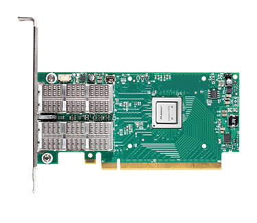 DELL NHYP5 MELLANOX CONNECTX-4 DUAL PORT 100 GIGABIT SERVER ADAPTER ETHERNET PCIE NETWORK INTERFACE CARD. BRAND NEW.