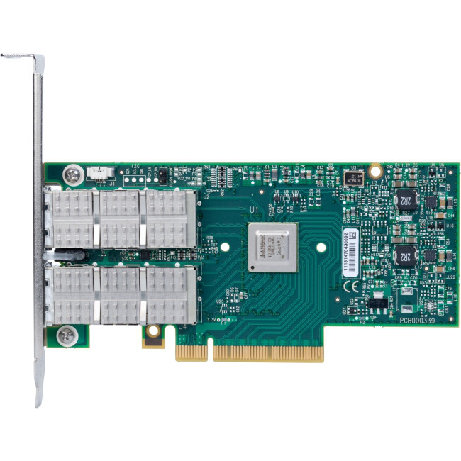 DELL NV7YN CONNECTX-4 LX EN PCIE 3.0, 25 GIGABIT NETWORK ADAPTER. NEW FACTORY SEALED.