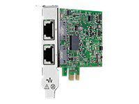 HP 615732-B21 ETHERNET 1GB 2-PORT 332T ADAPTER - PCI EXPRESS X1 - 2 PORT(S) - 2 X NETWORK (RJ-45) - FULL-HEIGHT, LOW-PROFILE. NEW RETAIL FACTORY