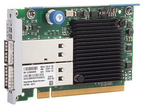 HP 702212-B21 INFINIBAND FDR 2-PORT 545FLR-QSFP ADAPTER.